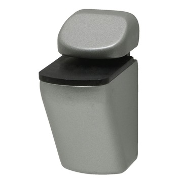 Duraline plankdrager clip mini mat zilver