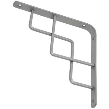Duraline plankdrager step mat zilver 19,5x19,5 cm