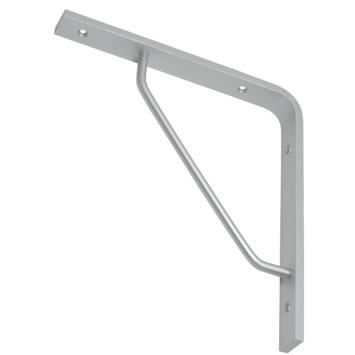 Duraline plankdrager triangel aluminium 23,5x22 cm