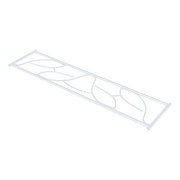 SecuBar Deco 2 Siertralie RAL 910 (Wit) 25x82,5 cm