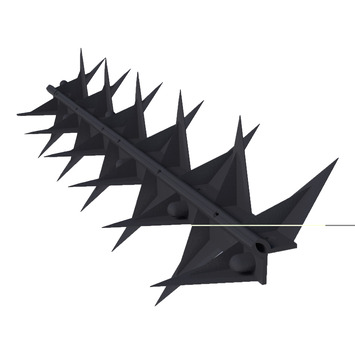 SecuMax Anti-Klimstrip Pro Zwart 50 cm