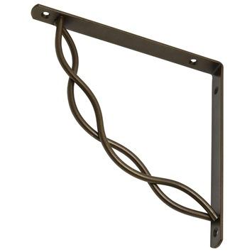 Duraline plankdrager swirl brons 19,5x19,5 cm