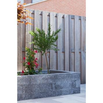 Stapelblok Beton Basalt Antraciet 60x15x12 cm