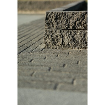 Stapelblok Beton Splitsteen Antraciet 29x9x9 cm