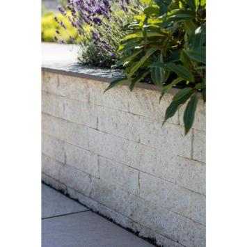 Stapelblok Beton Splitsteen Noors Wit 29x9x9 cm