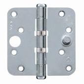 AXA Veiligheidsscharnier kogellager afgeronde hoeken SKG 3-sterren verzinkt 89x89 mm 3 stuks