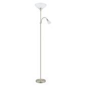 EGLO vloerlamp Up wit 2-lichts
