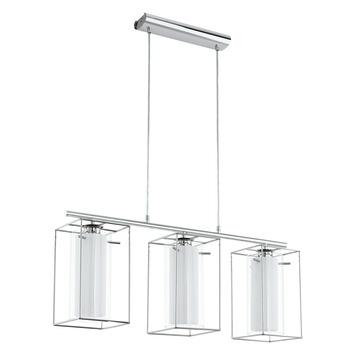 EGLO hanglamp Loncino chroom 3-lichts