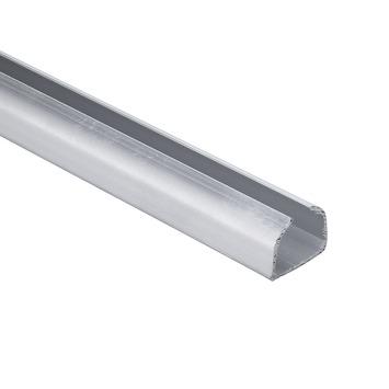 Essentials schuifdeurrail S40-75 aluminium 150 cm