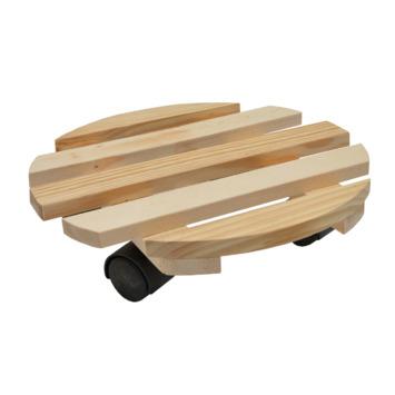 Handson houten plantentrolley Ø 30 cm max. 60 kg