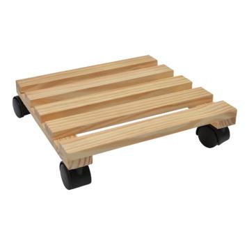 Handson houten plantentrolley 30x30 cm max. 60 kg