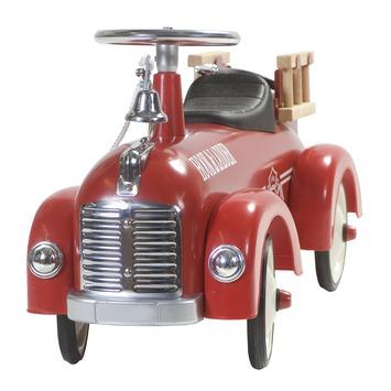 Retro roller brandweer auto