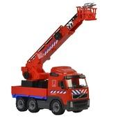 Brandweer bluswagen Volvo 58 cm