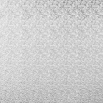 Essentials schopplaat aluminium blank 30x120 cm t.b.v. hordeur