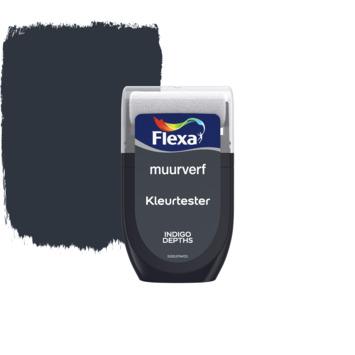 Flexa Creations muurverf Kleurtester Indigo Depths mat 30ml
