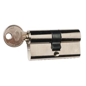 Nemef profielcilinder nikkel 30/30 mm