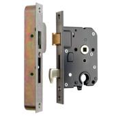 Nemef veiligheidsslot SKG** 4109/17 50mm RVS voorplaat