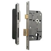 Nemef veiligheidsslot SKG** 4139/17 72mm RVS voorplaat