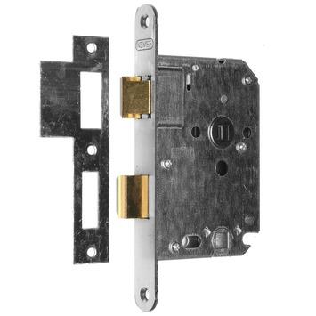 NEMEF 1200 serie insteekslot badkamerslot/wc-slot met rvs voorplaat Doorn 50mm PC 63mm