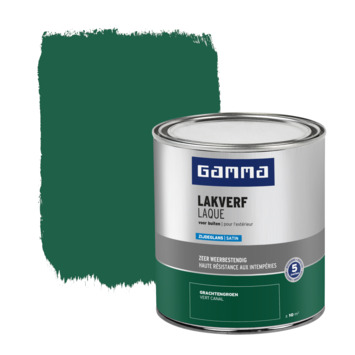 GAMMA buitenlak zijdeglans 750 ml grachten groen