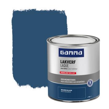 GAMMA buitenlak hoogglans 750 ml geldersblauw