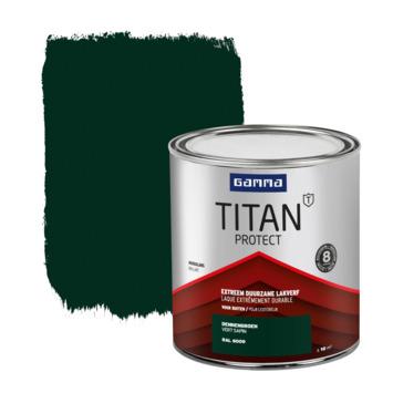 GAMMA Titan buitenlak hoogglans 750 ml dennengroen