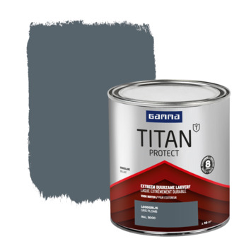 GAMMA Titan buitenlak hoogglans 750 ml loodgrijs