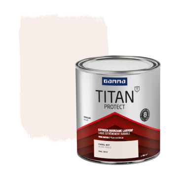 GAMMA Titan buitenlak hoogglans 750 ml parelwit