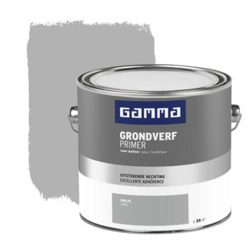 GAMMA buitenlak grondverf 2,5 L grijs