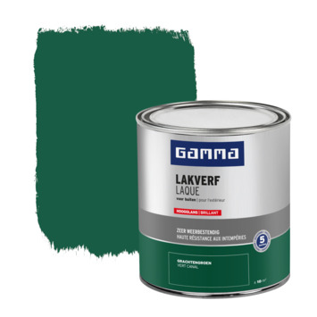 GAMMA buitenlak hoogglans 750 ml grachten groen