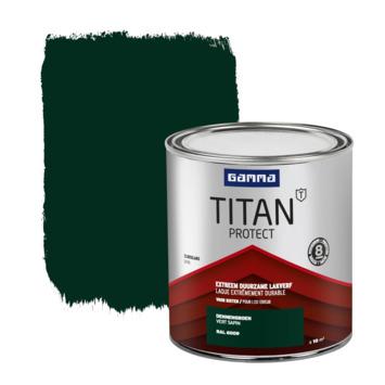 GAMMA Titan buitenlak zijdeglans 750 ml dennen groen