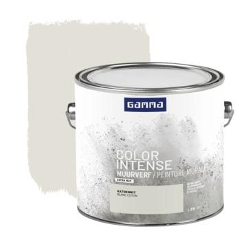 GAMMA Color intense muurverf extra mat 2,5 L katoenwit
