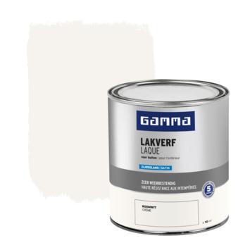GAMMA buitenlak zijdeglans 750 ml roomwit
