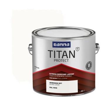 GAMMA Titan buitenlak zijdeglans 2,5 L gebroken wit