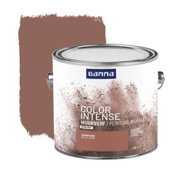 GAMMA Color intense muurverf extra mat 2,5 L aarderood