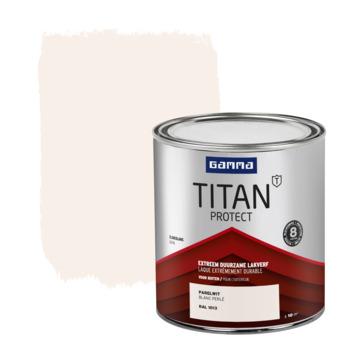 GAMMA Titan buitenlak zijdeglans 750 ml parelwit