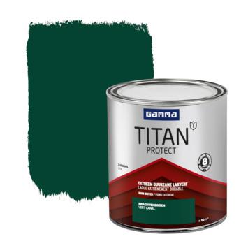 GAMMA Titan buitenlak zijdeglans 750 ml grachten groen
