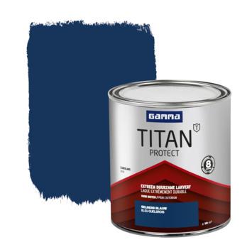 GAMMA Titan buitenlak zijdeglans 750 ml gelders blauw