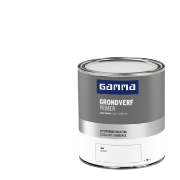 GAMMA buitenlak grondverf 750 ml wit