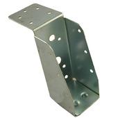 Balkdrager lange lip verzinkt 63x160 mm