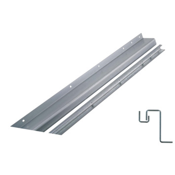 Secu anti-inbraakstrip type 3T10 buitendraaiend wit 8-10 mm 211,5 cm