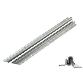 Secu anti-inbraakstrip type 3T15 buitendraaiend wit 13-15 mm 211,5 cm