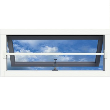 SecuBar barrièrestang Single RAL 9010 (Wit) SKG 2-sterren 60-100 cm