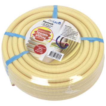 "Pipelife elektrabuis PVC flexibel  5/8"" 16mm Low Friction 20 meter"