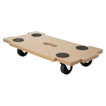 Handson MDF meubeltransporter koppelbaar 56x29 cm max. 200 kg
