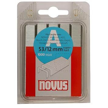 Novus nieten dundraad A53 12 mm 1000 stuks