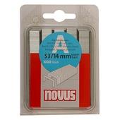 Novus nieten dundraad A53 14 mm 1000 stuks