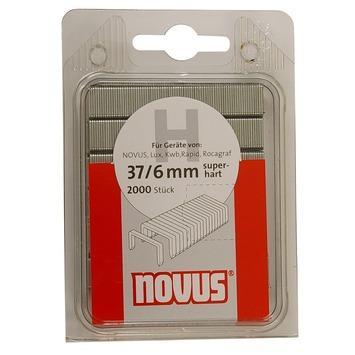 Novus nieten dundraad H37 6 mm 2000 stuks