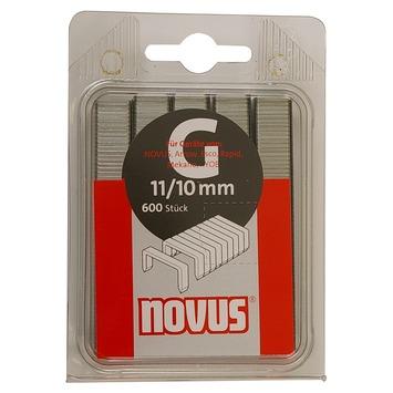 Novus nieten vlakdraad G11 10 mm 600 stuks