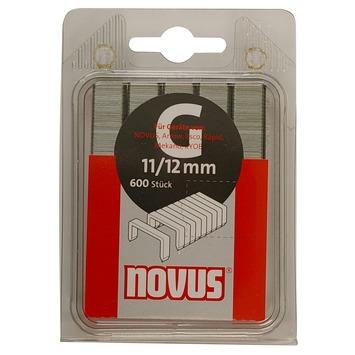 Novus nieten vlakdraad G11 12 mm 600 stuks